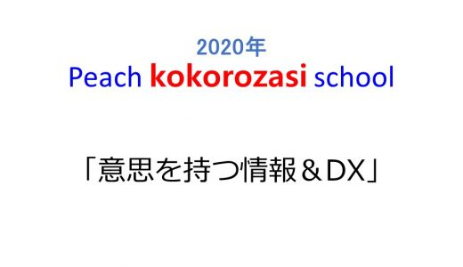 第2回Peach kokorozasi school